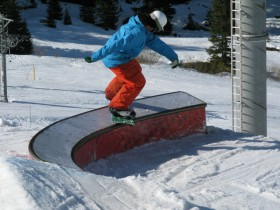 C-Box Boardslide Courchevel Family Park