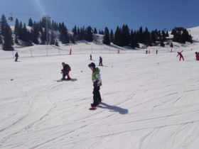 Courchevel Beginner Slope